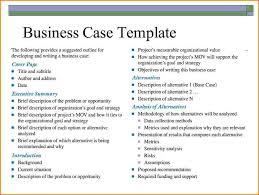 10 Business Case Templates Worker Resume Inside Business Case
