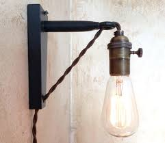 hanging light with plug in cord plug in wall light fixtures photo mounted pendant lights decorating home with the correct table lamp desk reading lamps hang