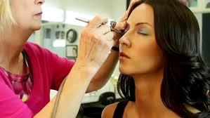dinair airbrush makeup service at omaha s hair choice