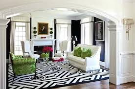geometric designs and patterns are typical of modern interiors black white rug outdoor australia
