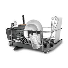 decor tips kitchenaid dish drying rack with knife block and
