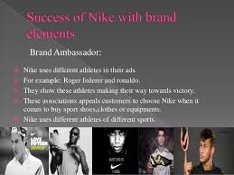 Nike Brand Ambassador Brand Elements And How Nike Use Brand Elements