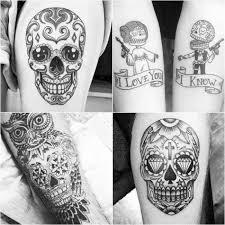 Mexican Sugar Skull Tattoos Calavera Ink Ideas Day Of The Dead