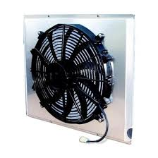 dual 12 inch fan shroud combo 28 w x 17 h shipping afco 80406fan 2170 cfm fan shroud assembly for gm mopar radiators