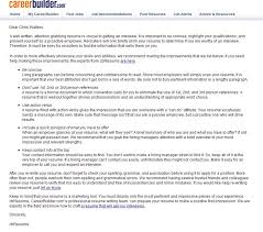 Careerbuilder S Free Resume Review Is Bot Driven Junk Career Builder