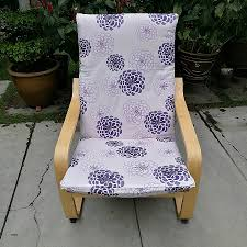 chair covers for outdoor chairs lovely ikea poang chair cushion cover purple fl print high resolution