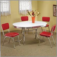 retro chrome table and chairs canada