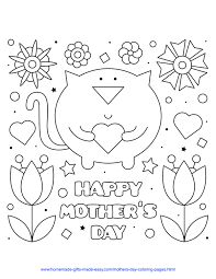 Want to create a beautiful card for your mom? 57 Best Mother S Day Coloring Pages Free Printables