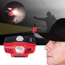 Hat Brim Light Us 9 39 44 Off Sunrex Cap Hat Brim Clip Lamp Head Light Headlight Headlamp Camping Hiking Fishi Outdoor Sports Led Lights Waterproof 4s04 In