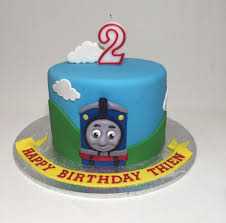 Thomas The Train Cake Plus Thomas The Train Cupcake Picks Plus