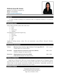 Best Solutions of Sample Resume For Business Administration Graduate On  Letter