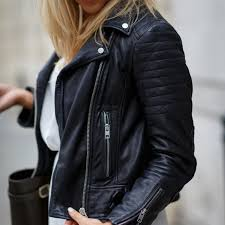 all saints jackets blazers all saints papin leather jacket