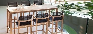 outdoor furniture high end. Royal Botania XQI Exterior TEAK Bar Furniture | 43 MODERN Teak BAR STOOL Outdoor High End O