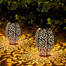 solar lanterns outdoor oxyled 2 pack