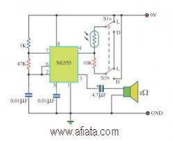 simple fire alarm thermistor circuit diagram images flame detection circuit electronic design