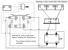 schematic v is for voltage electric vehicle forum contactor wiring schematic for reversing series motor