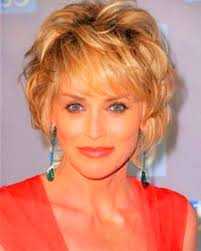 50 year old hairstyles for thick hair image of short curly hairstyles for year olds