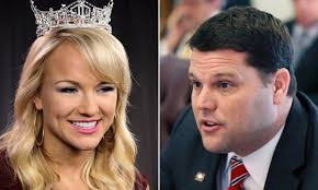 Former Miss America fires back at Arkansas senator | Daily Mail Online