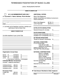 Music Newsletter Templates Music Newsletter Templates Fillable Printable Online Forms