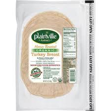 pre sliced organic honey roasted turkey