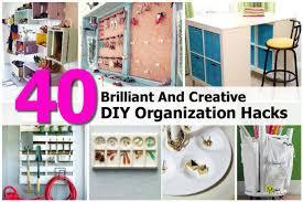 Diy Organization 40 Brilliant And Creative Diy Organization Hacks