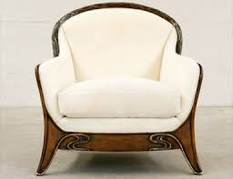 Furniture in an Art Nouveau style practical decoration of an
