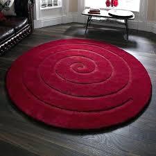 red circle rug red circle rug spiral round small circular