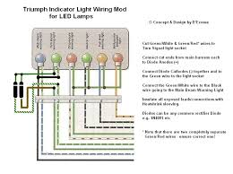 new additional turn signal indicator lamp (led) triumph forum LED Light Bar Wiring Diagram new additional turn signal indicator lamp (led) triumph forum triumph rat motorcycle forums