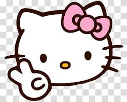 Kitty Line Art Transparent Background Png Clipart Hiclipart