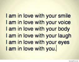 love you i love you i love you in love