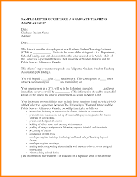 12 Cover Letter For Graduate Assistantship Hostess Resume