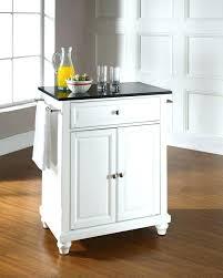 kitchen island cart granite top. Kitchen Island Granite Top Marble Cart Solid Black Portable
