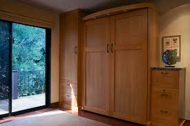 Bedrooms featuring Murphy beds.