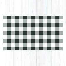 buffalo check outdoor rug hobby lobby in black by domesticate rugs