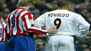 F.Torres y Ronaldo en el Real Madrid - Atlético de la 2003/04