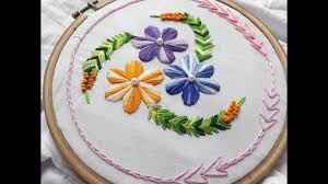 Pillow Case Hand Embroidery Designs Beautiful Hand Embroidery Design For Cushion Cover Hand Embroidery Designs