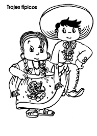 Small Picture Mexico Coloring S Free Coloring Pages Mexican Dancers Coloring