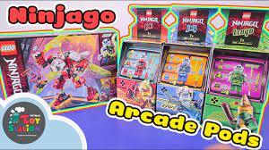Những chiếc máy game Arcade Pod từ Lego Ninjago season mới ToyStation 468 -  YouTube