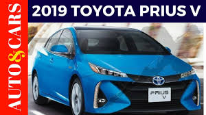 2019 Toyota Prius V Looking Facelift Review - YouTube
