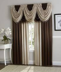 Living Room Curtains And Valances Furniture Living Room Design With Small White Sofa Near Round
