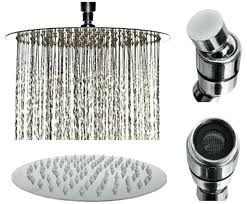 shower flow rate 8 inch chrome rainfall high pressure shower head low flow rate fixed waterfall