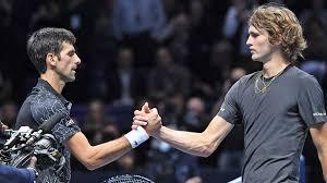 The winner will play stefanos tsitsipas or alexander zverev in sunday's final. Djokovic Vs Zverev By The Numbers Atp Tour Tennis