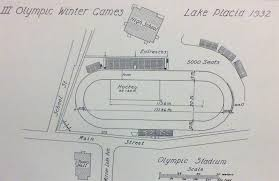 Olympic Arena Lake Placid Seating Chart Skate Guard The 1932 Winter Olympic Games