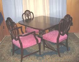 phyfe dining room table mahogany extensions