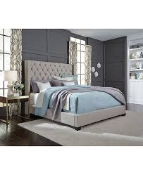 Furniture Monroe Upholstered Queen Bed, Created for Macy's ...