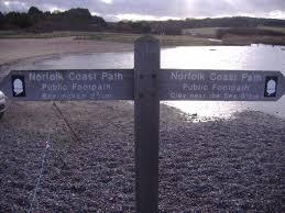 Fife Coastal Path Distance Chart Norfolk Coast Path Wikipedia