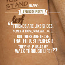 quotes about shoes and friendship