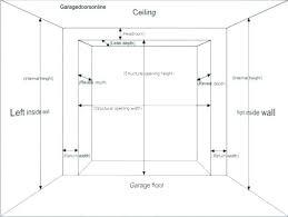 Single Garage Door Sizes Agracekids Org