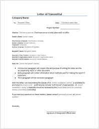 Letters Of Transmittal Letter Of Transmittal Word Templates For Free Download