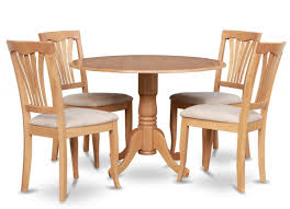 Small Dining Table 4 Chairs Set Lovely Outstanding Round Wood Dining